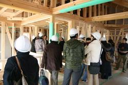 地熱住宅構造見学
