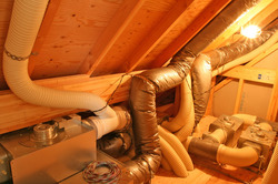 地熱住宅機会室