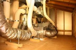 地熱の機械室